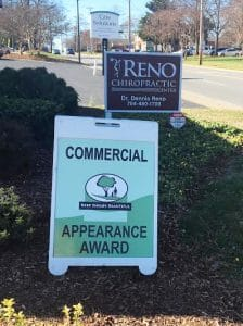 Chiropractic Shelby NC Sign